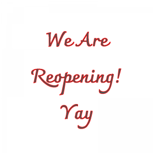 We are reopening featured image